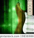 背景 电动 吉他 19836988