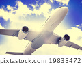 Airplane Plane Flying Aircraft Transportation Travel 19838472