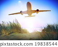 Airplane Plane Flying Aircraft Transportation Travel 19838544