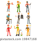 vector, profession, man 19847168