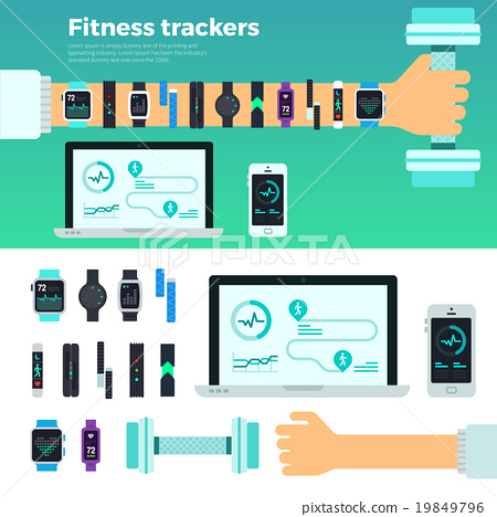 Fitness Trackers Virtual Coach Gadgets 19849796