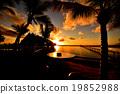 新喀里多尼亚 日落 夕阳 19852988