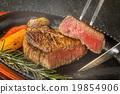 牛排 料理 回鍋 19854906