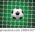 球 足球 目標 19864367