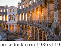 Architectural Details of Pula Coliseum, Croatina 19865119