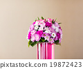 Reception Interior with beautiful  flowers in vase 19872423