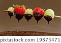 火锅 巧克力火锅 巧克力 19873471