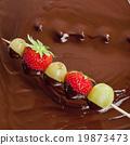 火锅 巧克力火锅 巧克力 19873473