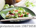 Asian vegetables on coconut milk 19873658