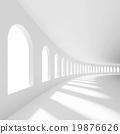 White Empty Hall 19876626
