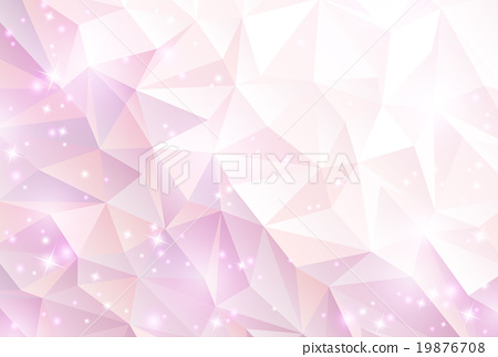 Pink polygon background 19876708