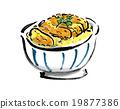 日本菜餚 飯類 豬排飯 19877386