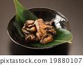燒烤架 雞肉為基礎的菜餚 碟 19880107