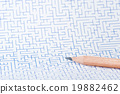 迷宮 鉛筆 宏觀 19882462