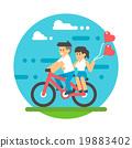 couple, vector, man 19883402
