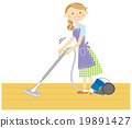家庭主妇要清理 19891427