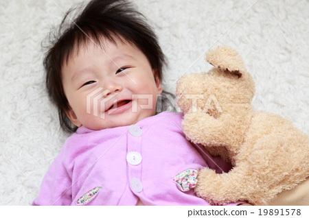 아기 (인형 장난감 장난감 유아 0 세 노는 강아지 개) 19891578