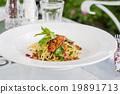 Spaghetti bacon chili 19891713