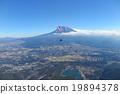 滑翔傘 天空體育 富士山 19894378
