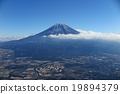 富士山 山 樁 19894379