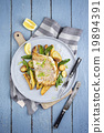Codfisch Filet with Vegetable 19894391