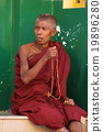 Buddhist monks in Myanmar 19896280