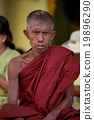 Buddhist monks in Myanmar 19896290