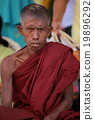 Buddhist monks in Myanmar 19896292