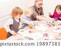 classroom kid paint 19897383