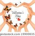Valentine's day background.  19900635