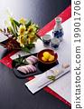 御节料理 年夜饭 为新年存储的食物 19901706