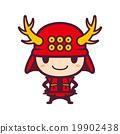 真田幸村 矢量 日本武士 19902438