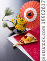 御节料理 年夜饭 为新年存储的食物 19902617