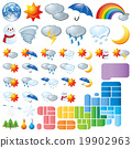 天氣 圖標 Icon 19902963