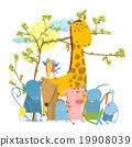 สัตว์,การ์ตูน,สวนสัตว์ 19908039