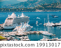 White Yachts and Ships Of Different Sizes Are 19913017