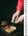 Asian soup ramen ready to eat 19913722