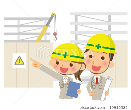 construction site, construction sites, blue collar worker 19916322