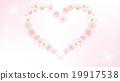 心 心形 樱花 19917538