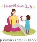 母親節 康乃馨 插圖 19918777