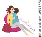 母親節 康乃馨 插圖 19918778