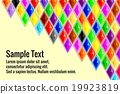 various colorful diamond background 19923819