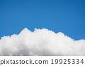 雪 下雪的 蓝天 19925334