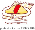 食物 食品 大米煎蛋 19927106