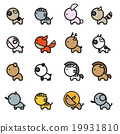 Cute Animals  Icon Set 2 19931810