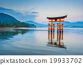 The Floating Torii gate in Miyajima, Japan 19933702