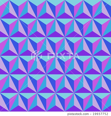Normal map  triangle  for 3d texture 19937752