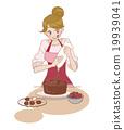 情人節 情人 蛋糕 19939041