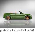 Car Convertible Transportation 3D Illustration Concept 19939240