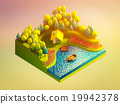 green earth concept in isometric view 19942378